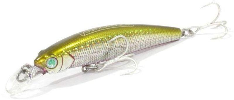 Воблер Yoshi Onyx Twitcher King-85 SP-MR, цвет: золотой, стальной, 8,5 см, 9,4 г