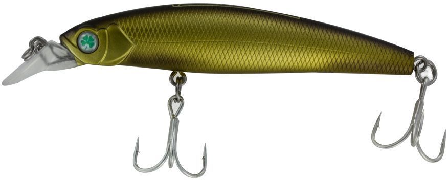 Воблер Yoshi Onyx Twitcher King-85 SP-MR, цвет: темное золото, 8,5 см, 9,4 г