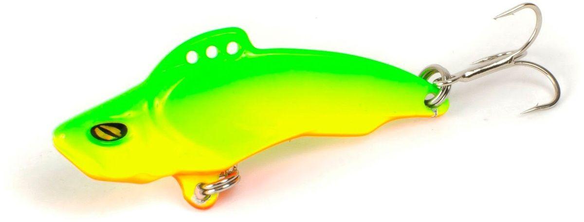 Блесна Yoshi Onyx Yalu Vib Up, цвет: желтый, зеленый, 15 г блесна yoshi onyx luna колеблющаяся на крючке с бородкой вес 3 5 г tr04