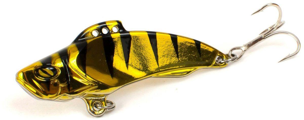 Блесна Yoshi Onyx Yalu Vib, цвет: золотой, черный, 21 г блесна yoshionyx блесна yoshi yalu wave 15 8 2