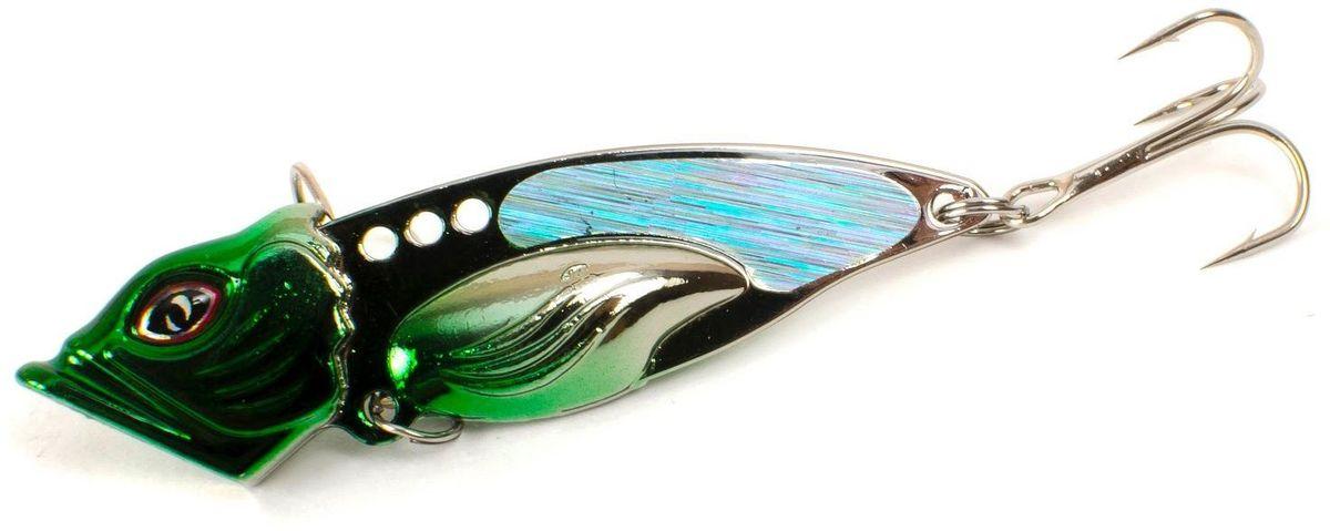 Блесна Yoshi Onyx Yalu Vib Up, цвет: зеленый, 21 г блесна yoshionyx блесна yoshi yalu wave 15 8 2