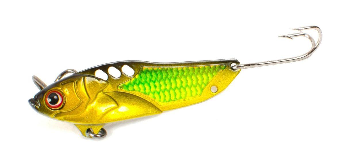 Блесна Yoshi Onyx Yalu Check, цвет: желтый, зеленый, 5 г блесна yoshionyx блесна yoshi yalu wave 15 8 2