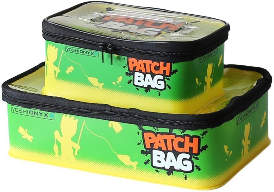 Набор коробок для снастей Yoshi Onyx Patch Bag, цвет: желтый, зеленый, 2 шт набор коробок для карповой ловли carp box для хранения рыболовных снастей приманок бойлов цвет черный