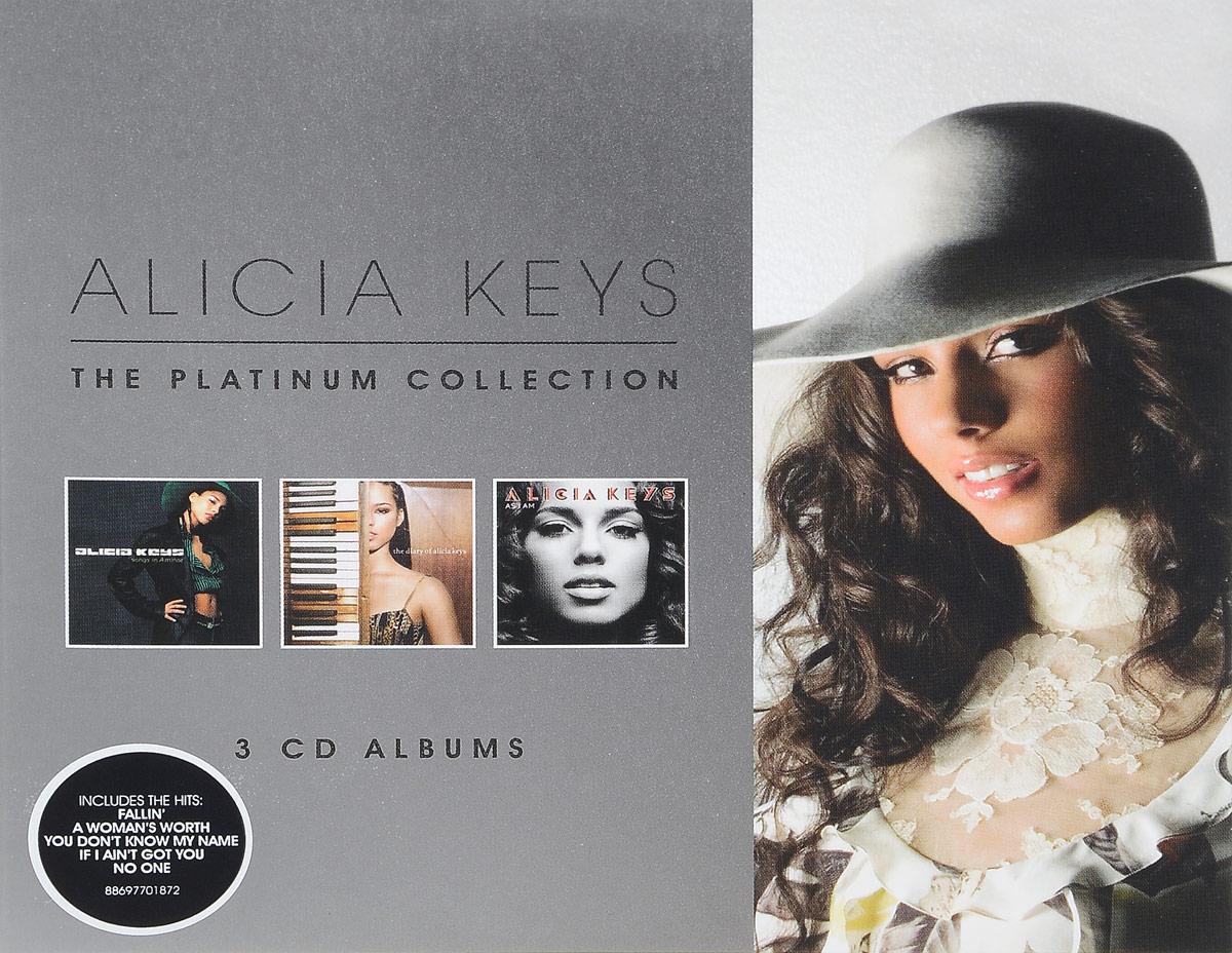 Алисия Кис Alicia Keys. The Platinum Collection (3 CD) цена 2017