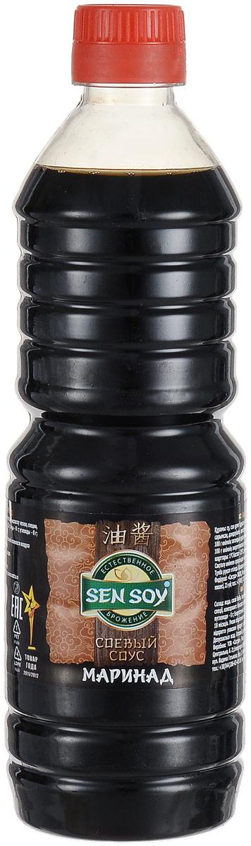 Sen Soy Соевый Соус Маринад, 500 мл натуральный соевый соус темный pearl river bridge superior dark soy sauce 500 мл