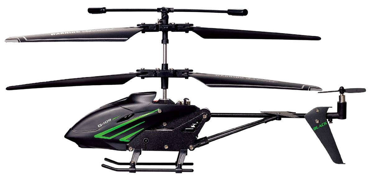 Фото - 1TOY Квадрокоптер на радиоуправлении Gyro-109 Black Edition игрушка 1toy gyro 109 вертолет с гироскопом т52819