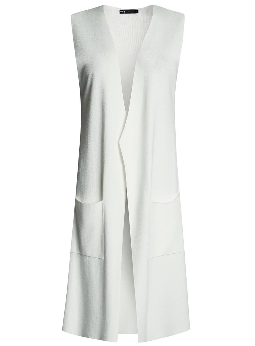Жилет oodji Ultra длинный кружевной жилет