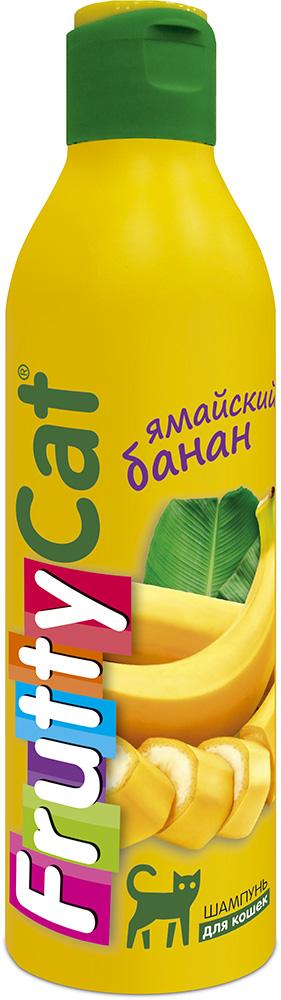 "Шампунь для кошек АВЗ ""FruttyCat. Ямайский банан"", 250 мл"