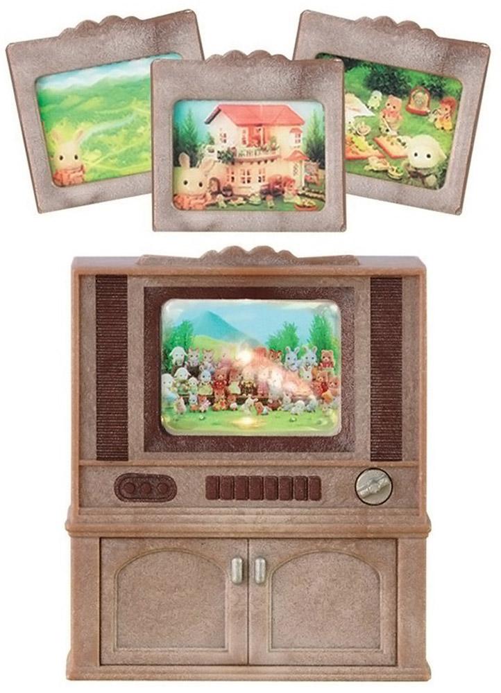 """Sylvanian Families игровой набор """"Цветной телевизор"""", в цветовом ассортименте"""