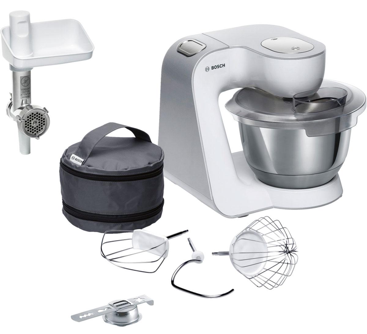 Кухонный комбайн Bosch MUM58225, White