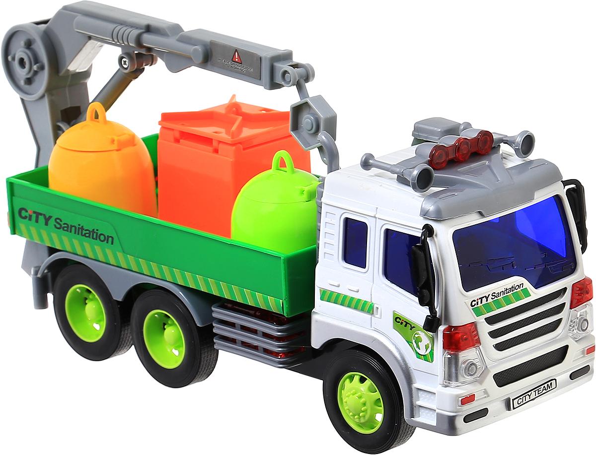 Dave Toy Погрузчик инерционный гаражи и игровые наборы dave toy dave toy