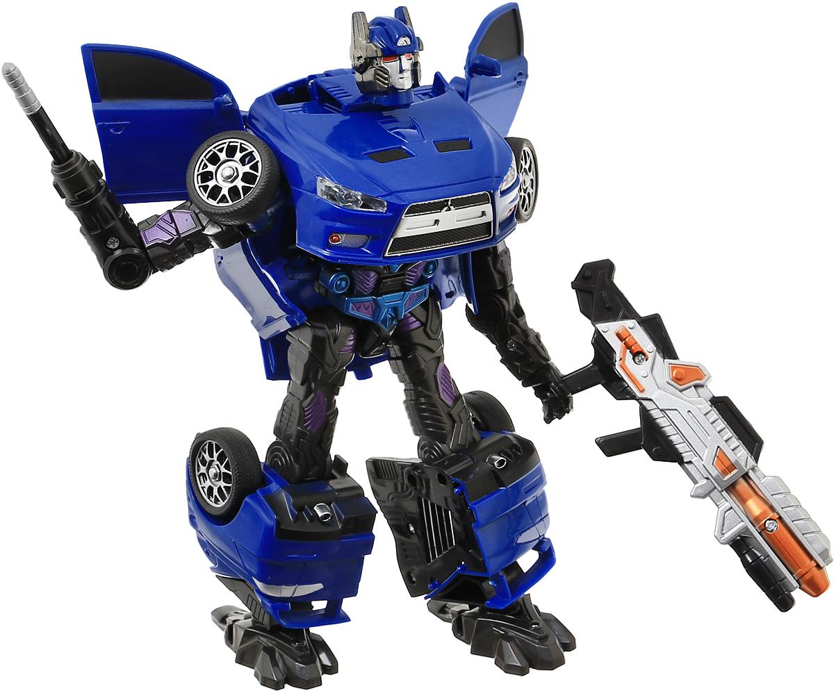 лучшая цена Able Star Робот-трансформер Mitsubishi Motors Lancer Evolution X & Pajero цвет синий