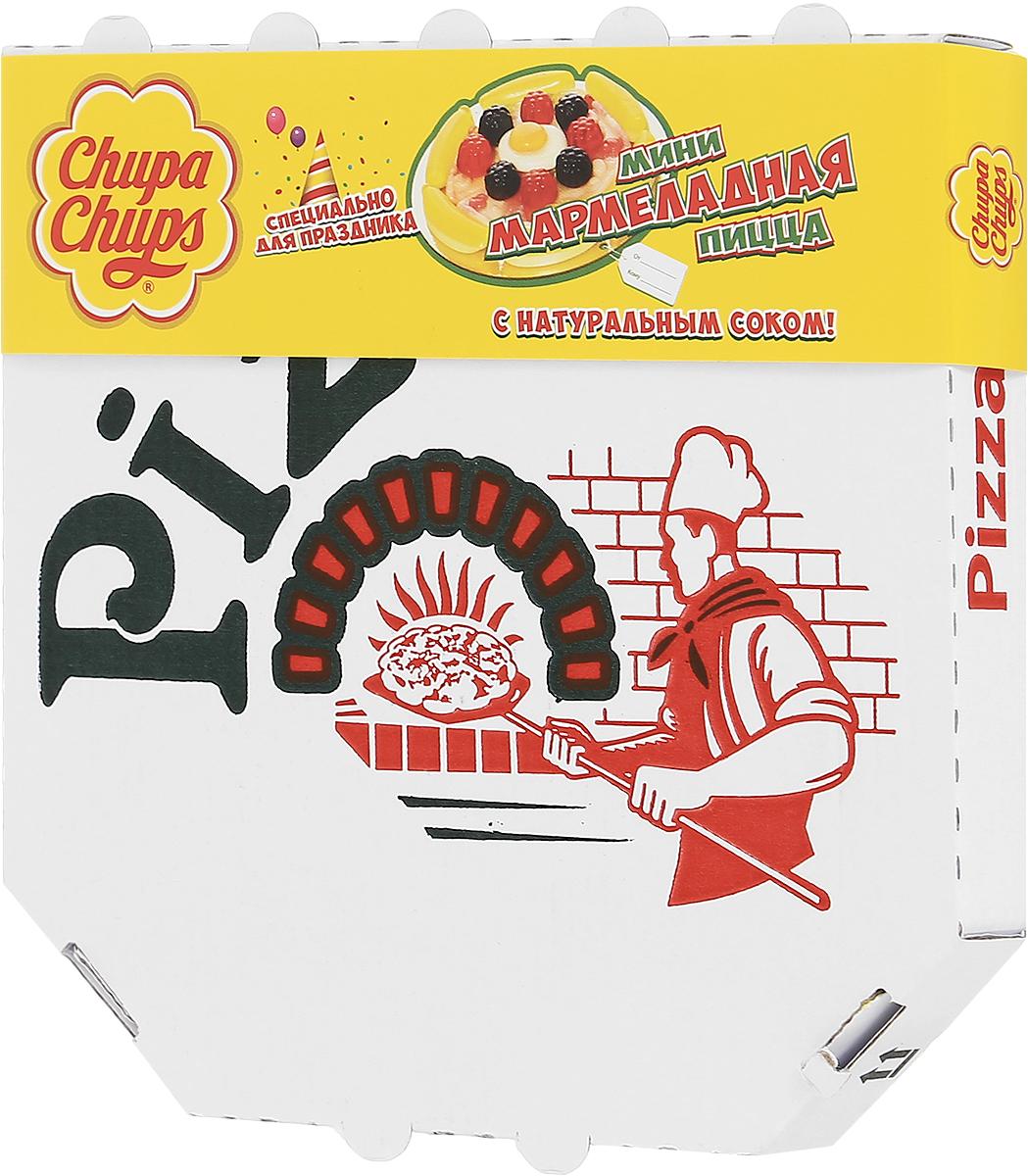 Chupa Chups Мармеладная пицца мини жевательный мармелад, 85 г калинина а в пицца на любой вкус