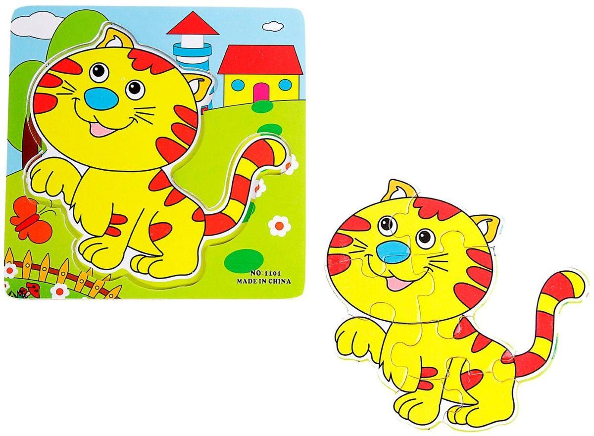 Лесная мастерская Пазл для малышей Полосатый котенок лесная мастерская пазл для малышей олень