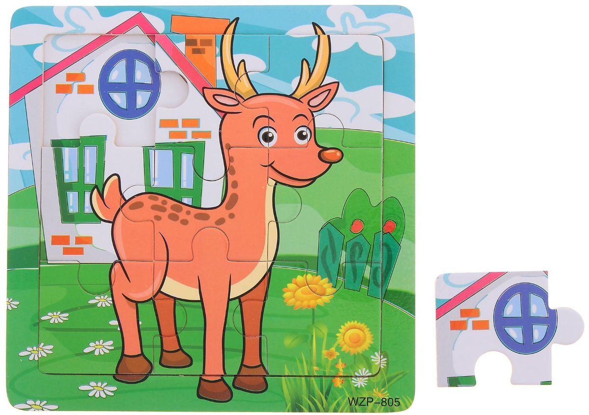 Лесная мастерская Пазл для малышей Олень лесная мастерская пазл для малышей олень