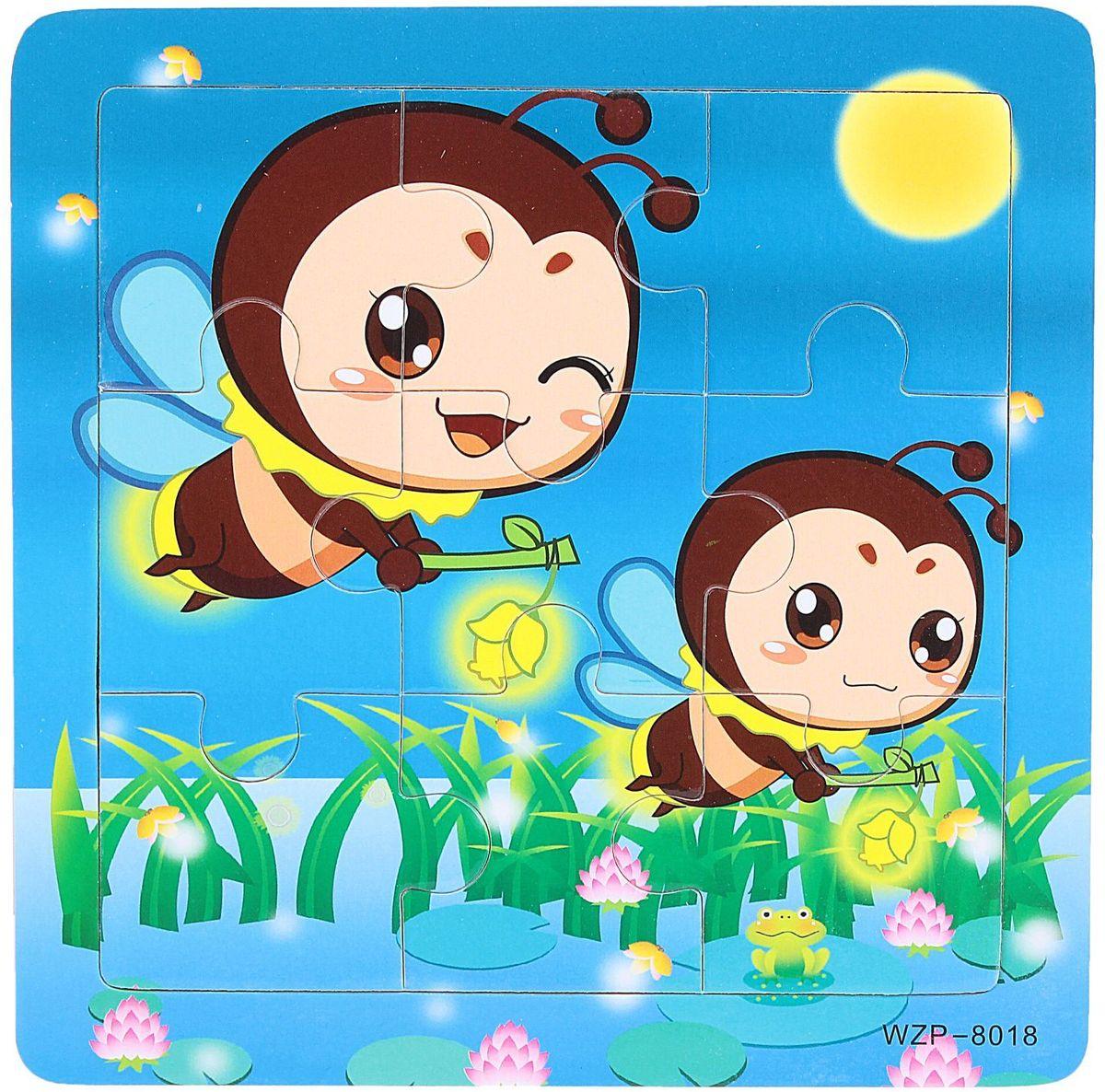 Лесная мастерская Пазл для малышей Пчелки лесная мастерская пазл для малышей олень
