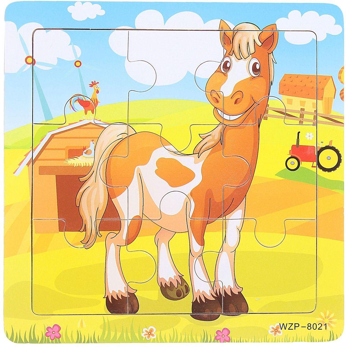 Лесная мастерская Пазл для малышей Лошадь лесная мастерская пазл для малышей олень