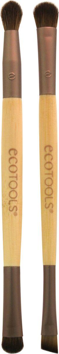 EcoTools Набор из двух кистей для макияжа глаз Eye Enhancing Duo Set цены