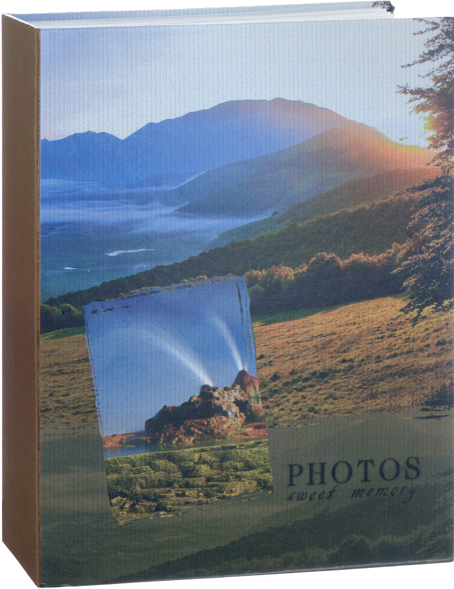 Фотоальбом Platinum Ландшафт - 1, 200 фотографий, 10 х 15 см, в ассортименте. PP-46200S фотоальбом platinum ландшафт 1 на 100 фото pp 46100s 12226 1