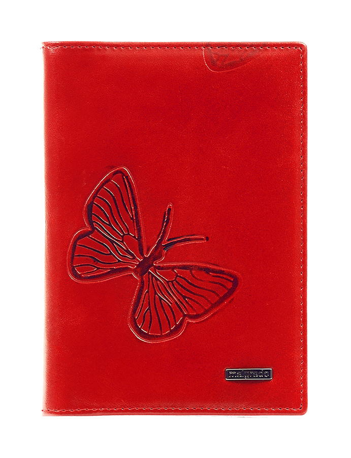Обложка для паспорта Malgrado, цвет: красный. 54019-1-700 обложка для паспорта malgrado цвет красный 54019 1 44
