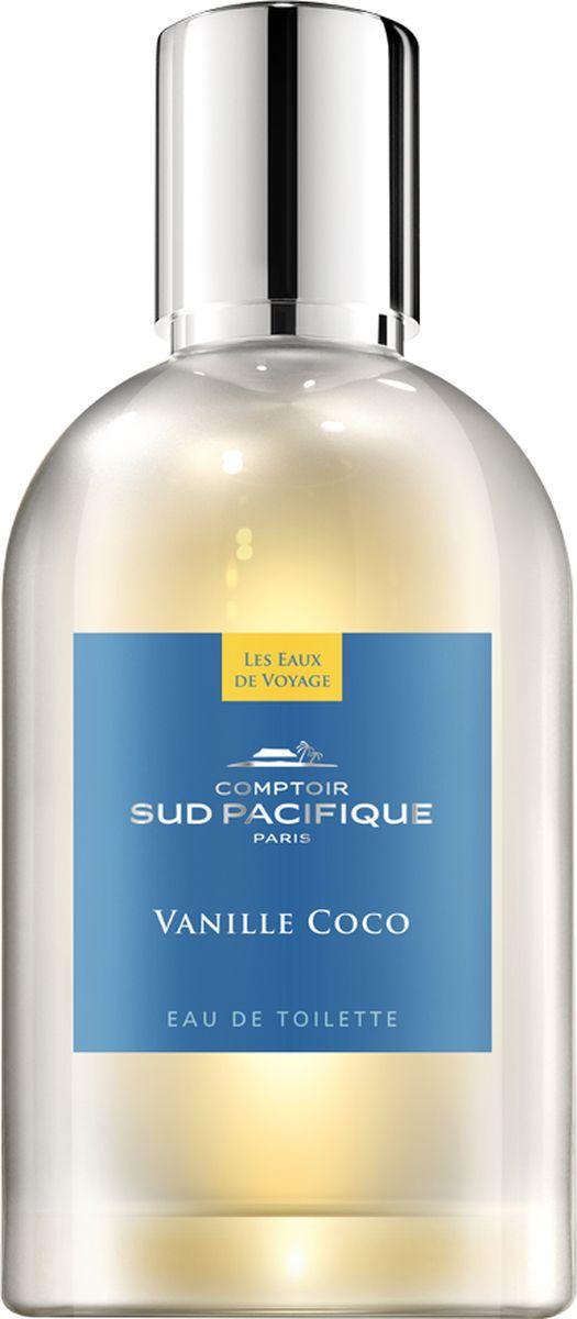 Comptoir Sud Pacifique Туалетная вода Ваниль Кокос 100 мл comptoir sud pacifique туалетная вода роман с какао 30 мл