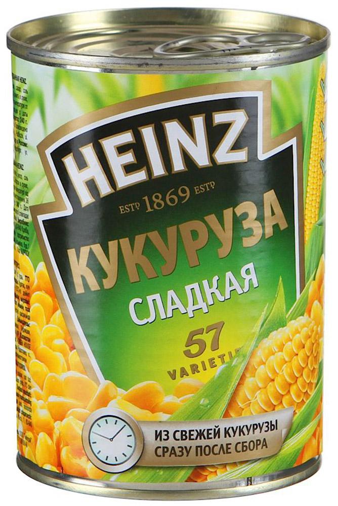 Heinz кукуруза, 340 г кукуруза bonduelle сладкая 340г