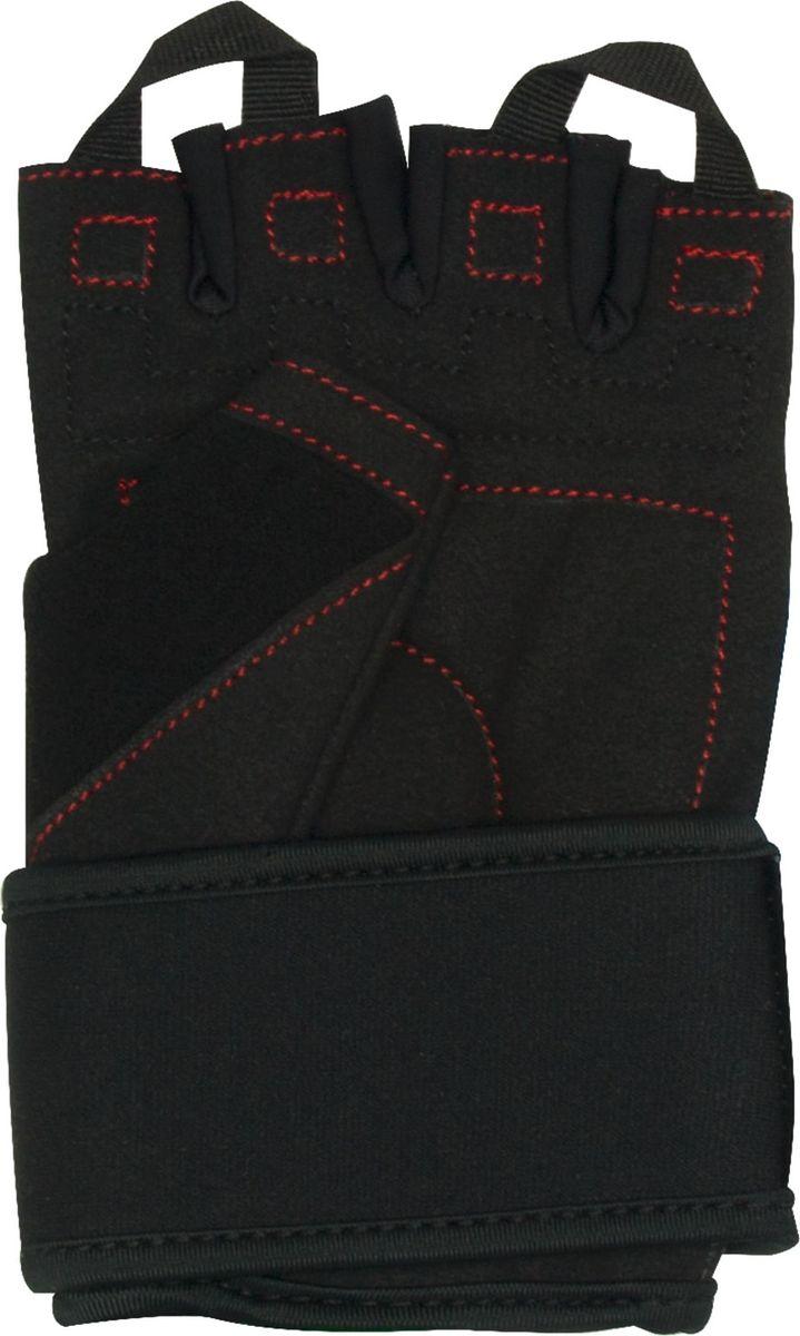 """Перчатки для фитнеса Starfit """"SU-120"""", цвет: черный. Размер XL"""