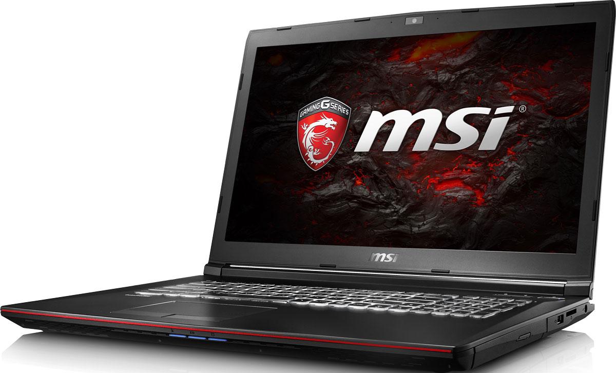 17.3 Игровой ноутбук MSI GP72VR Leopard Pro 7RF 9S7-179B93-282, черный msi original zh77a g43 motherboard ddr3 lga 1155 for i3 i5 i7 cpu 32gb usb3 0 sata3 h77 motherboard
