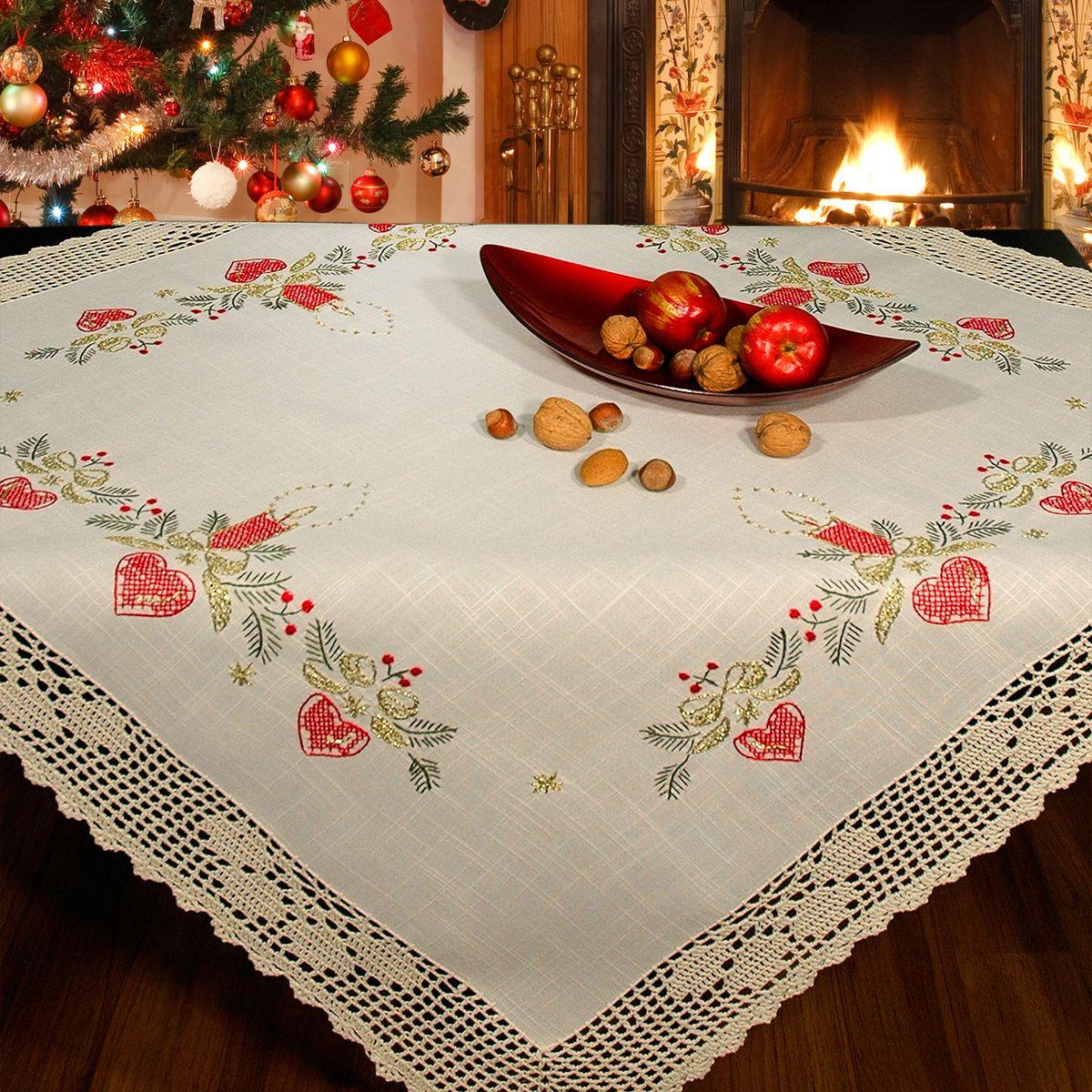 Красивые скатерти на стол фото голосовая связь