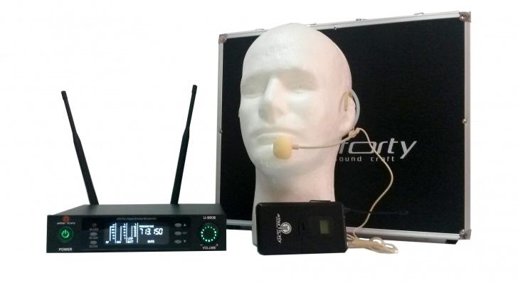 лучшая цена Arthur Forty PSC U-990B - Вокальная радиосистема с 1 головным микрофоном + база