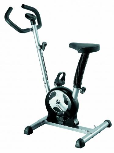 Велотренажер Iron Body 7255ВК, ременной, цвет: черный, стальной велотренажер iron body 7090bk 1