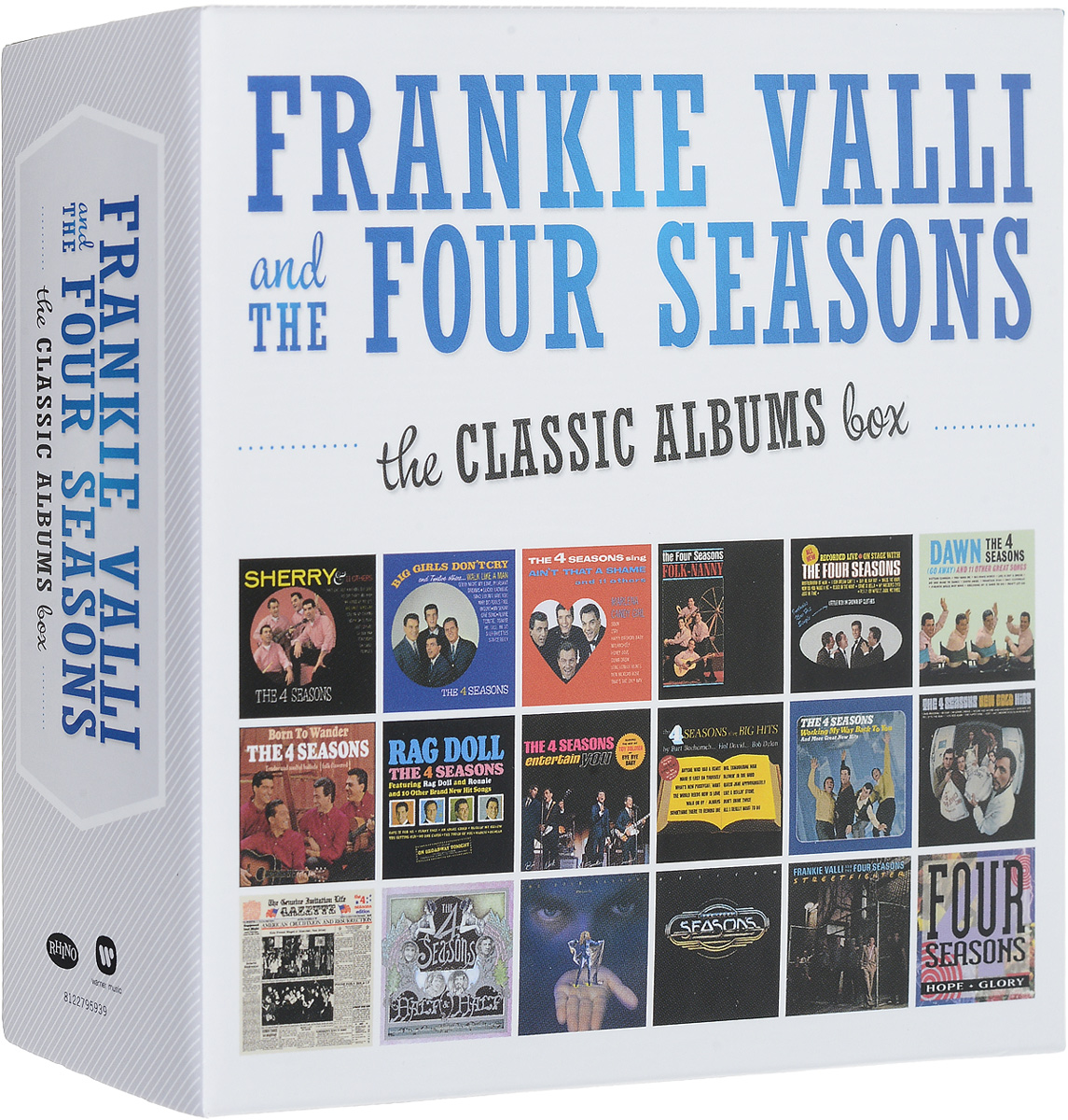Фрэнки Вэлли,The Four Seasons Frankie Valli & The Four Seasons. The The Classic Albums Box (18 CD) the four
