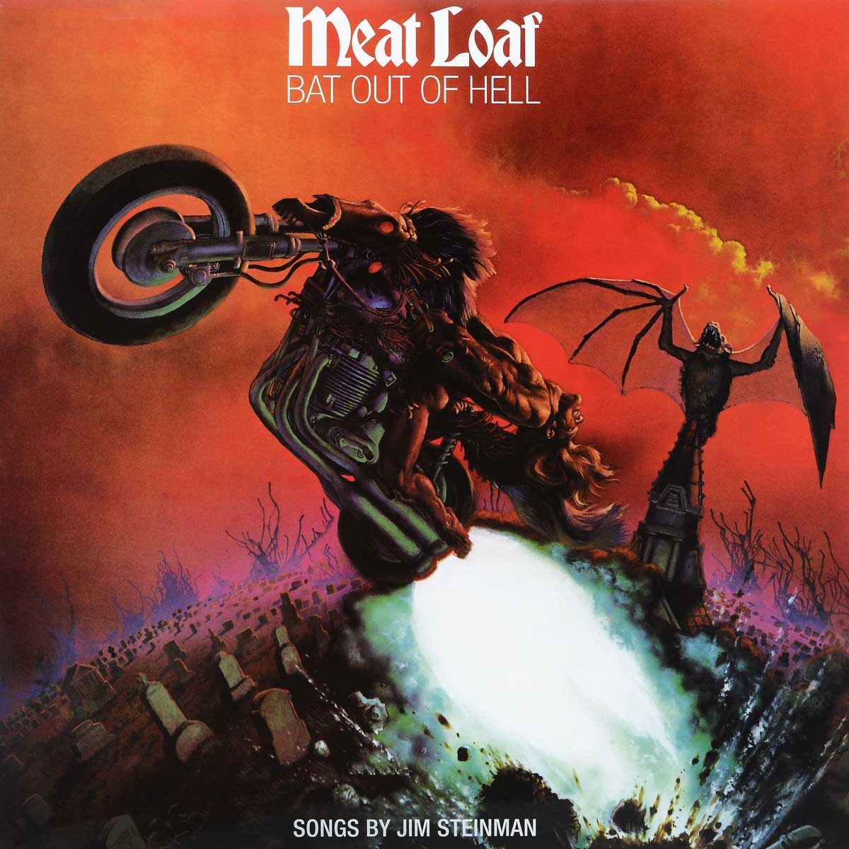 cat out of hell Мит Лоуф Meat Loaf. Bat Out Of Hell (LP)