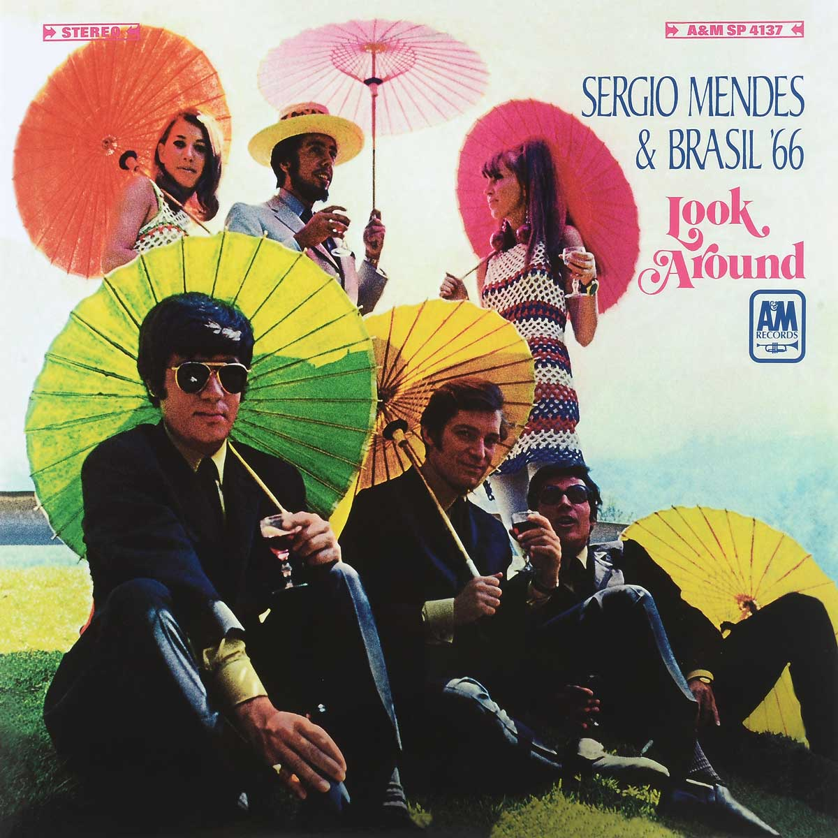 Сержио Мендес,Brasil '66 Sergio Mendes & Brasil '66. Look Around (LP) шон мендес shawn mendes handwritten