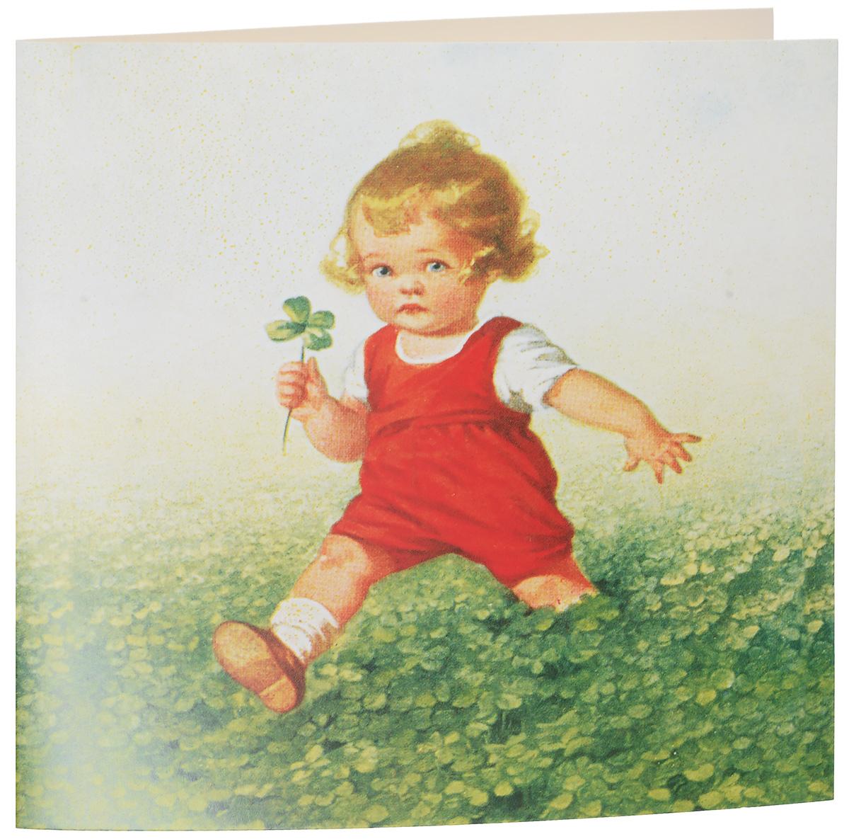 Открытка поздравительная Darinchi № 35, формат А5. Авторская работа открытка красавица с зеркальцем авторская работа д2