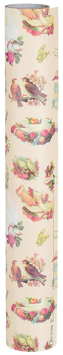 Бумага упаковочная Даринчи № 16, 69 х 48 см, 2 листа