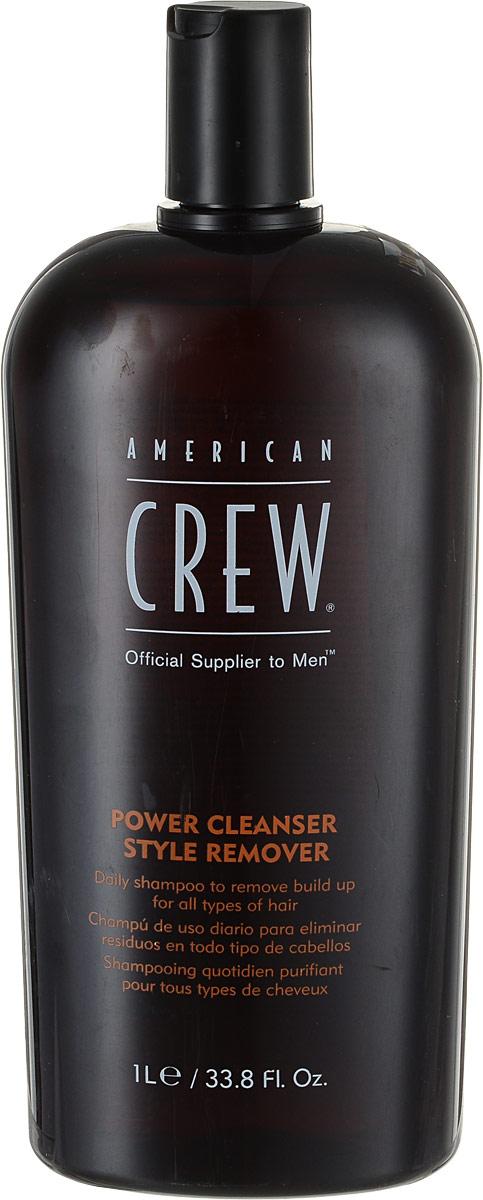 American Crew Шампунь для ежедневного ухода, очищающий волосы от укладочных средств Classic Power Cleanser Style Remover 1000 мл