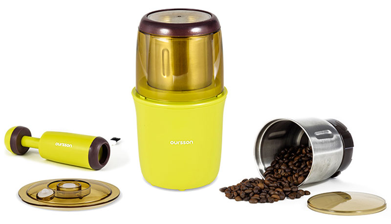 Кофемолка Oursson OG2075/GA, Green