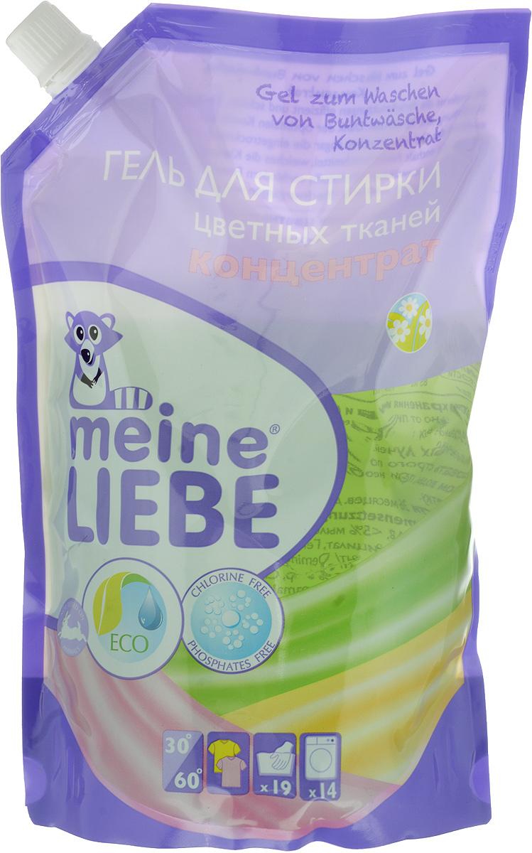 Гель для стирки Meine Liebe, концентрат, для цветного белья, 750 мл гель для стирки детского белья burti baby reisetube с алоэ вера 200 мл для ручной стирки