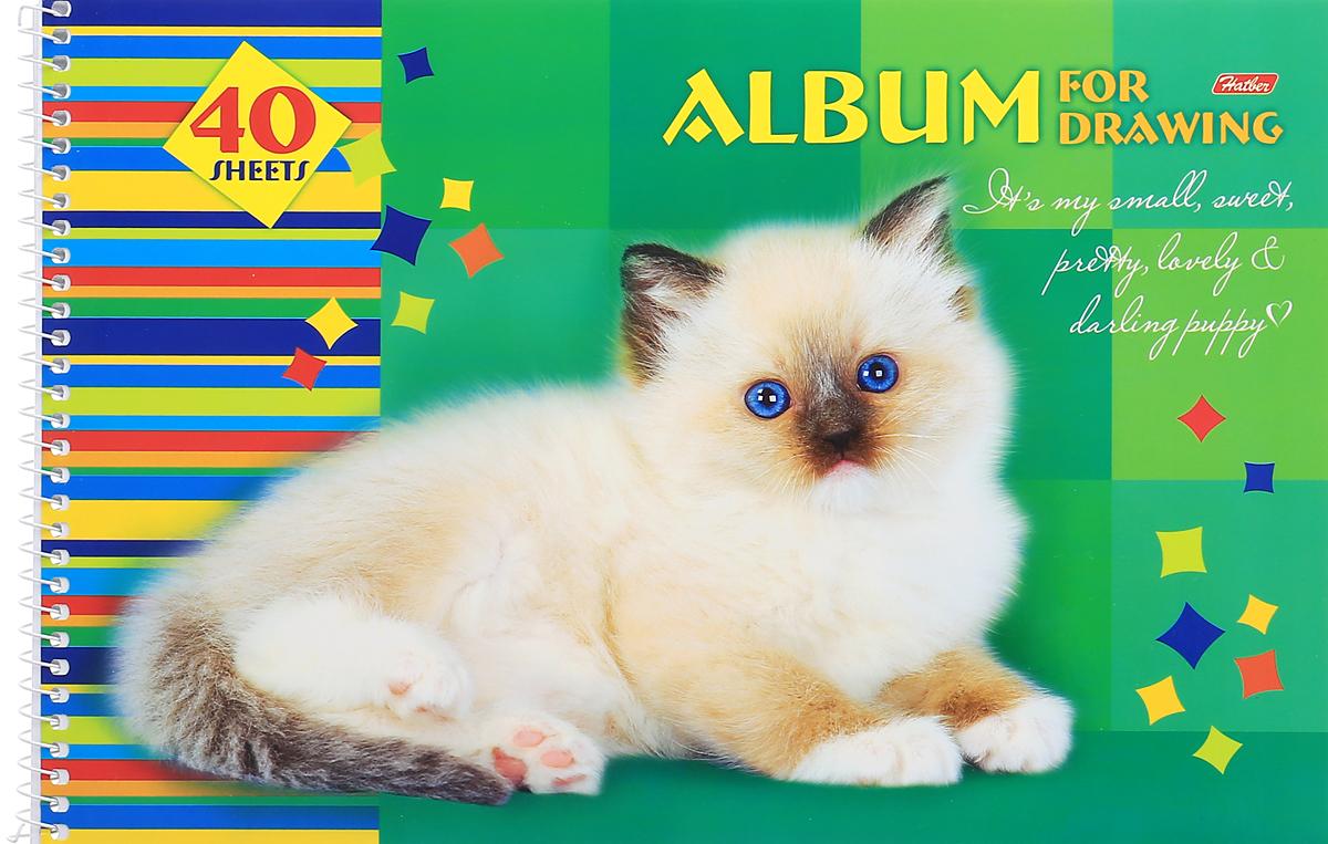 Hatber Альбом для рисования Любимцы 40 листов 09736 цена и фото