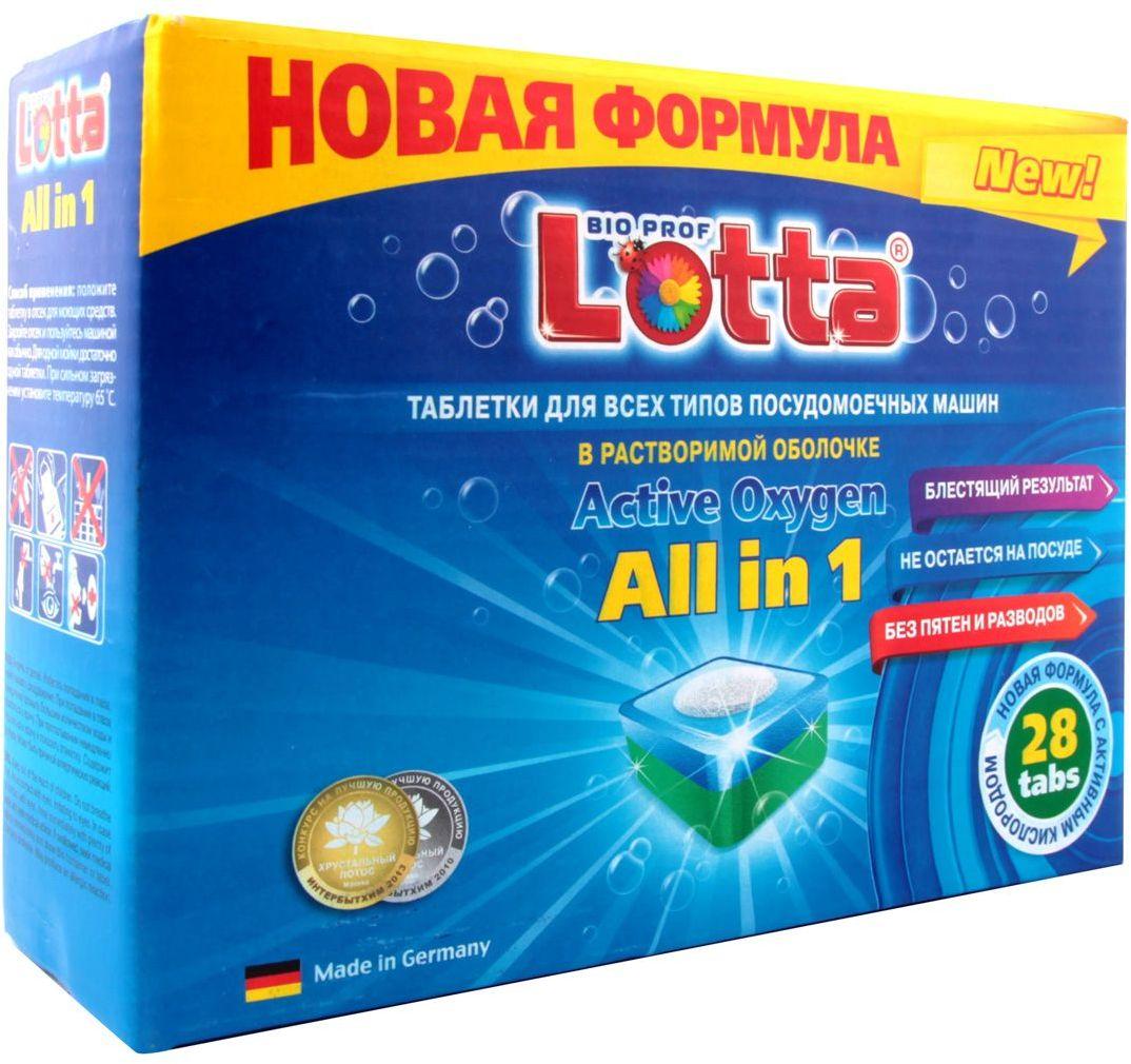 цены Таблетки для посудомоечных машин Lotta