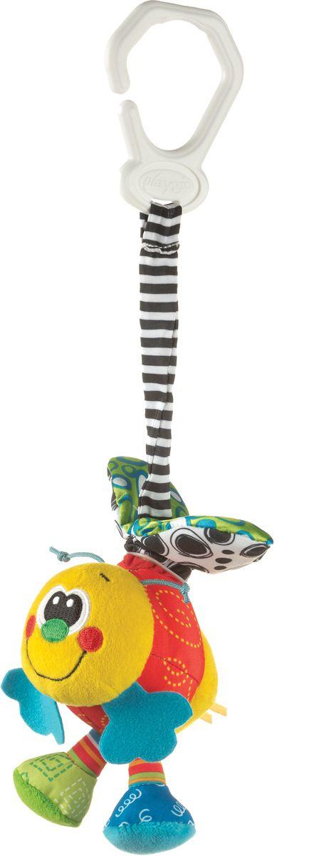 Playgro Игрушка-подвеска Пчелка интерактивная игрушка playgro пчелка с рождения