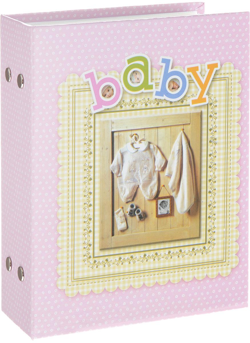Фотоальбом Platinum Детский альбом - 3, 100 фотографий, цвет: розовый, 10 х 15 см фотоальбом platinum ландшафт 1 200 фотографий 10 х 15 см цвет зеленый серый pp 46200s
