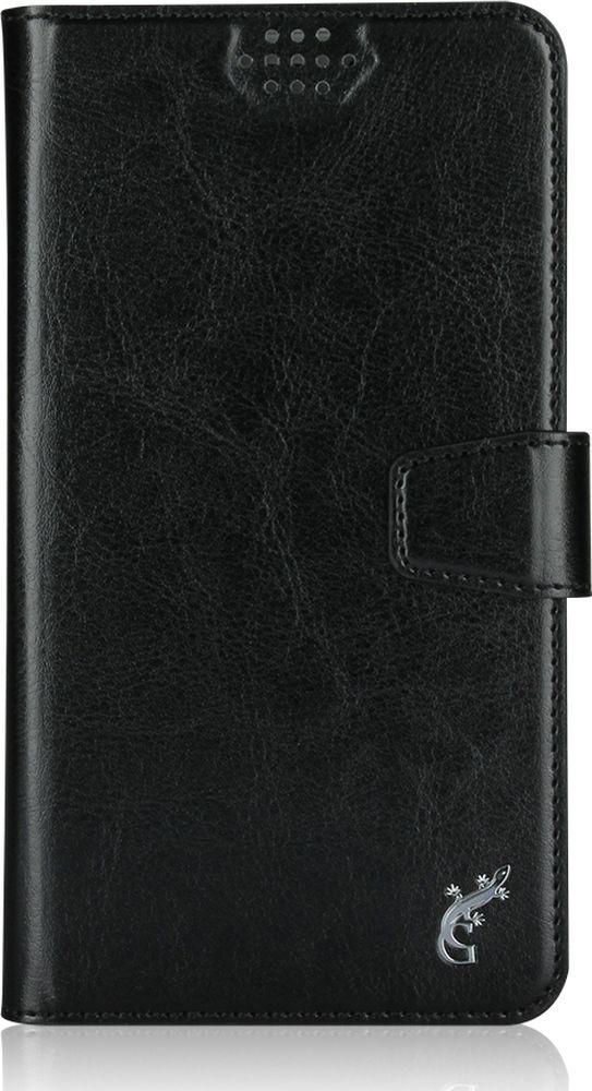G-Case Slim Premium универсальный чехол для смартфонов 5-5,5, Black untamo essence чехол универсальный 4 5 5 0 black
