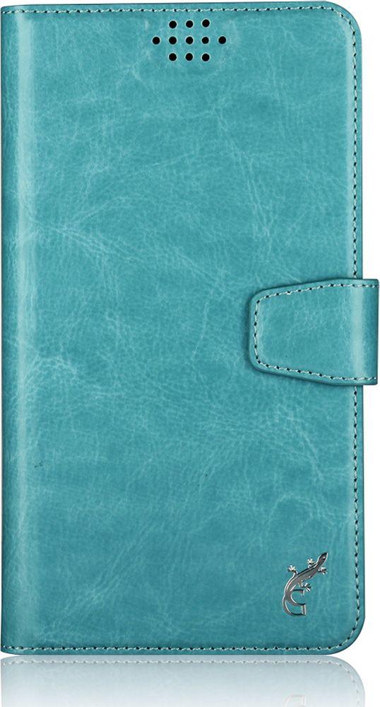 G-Case Slim Premium универсальный чехол для смартфонов 5-5,5, Blue чехол книжка универсальный для смартфонов р l 5 5 6 5 дюймов 165 85 20мм золотой olmio