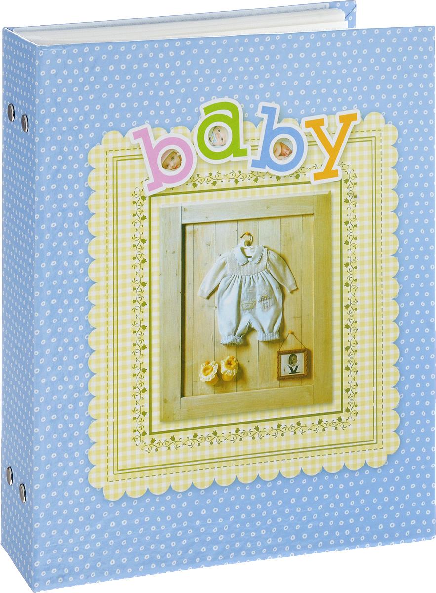 Фотоальбом Platinum Детский альбом - 3, 200 фотографий, цвет: голубой, 10 х 15 см фотоальбом platinum классика love 200 фотографий 10 x 15 см