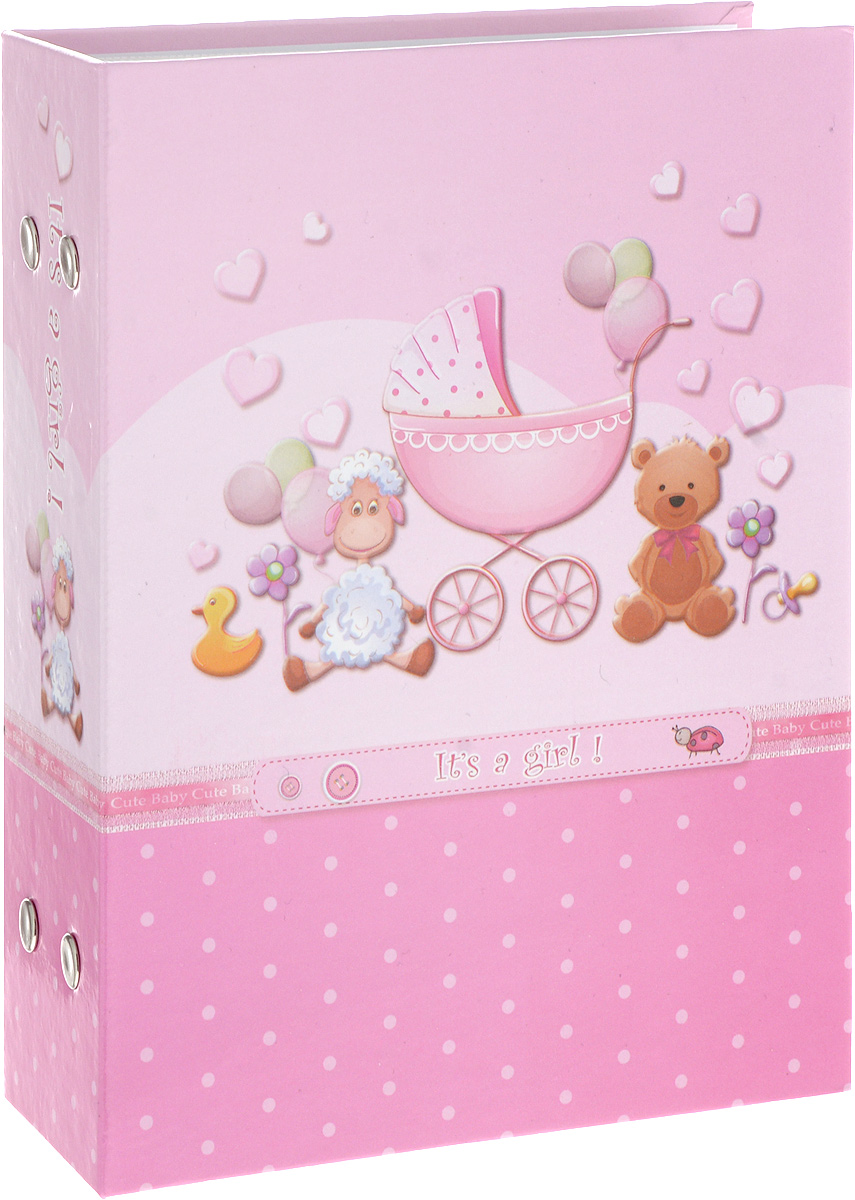 Фотоальбом Platinum Детский альбом - 1, 100 фотографий, цвет: розовый, 10 х 15 см фотоальбом platinum ландшафт 1 на 100 фото pp 46100s 12226 1