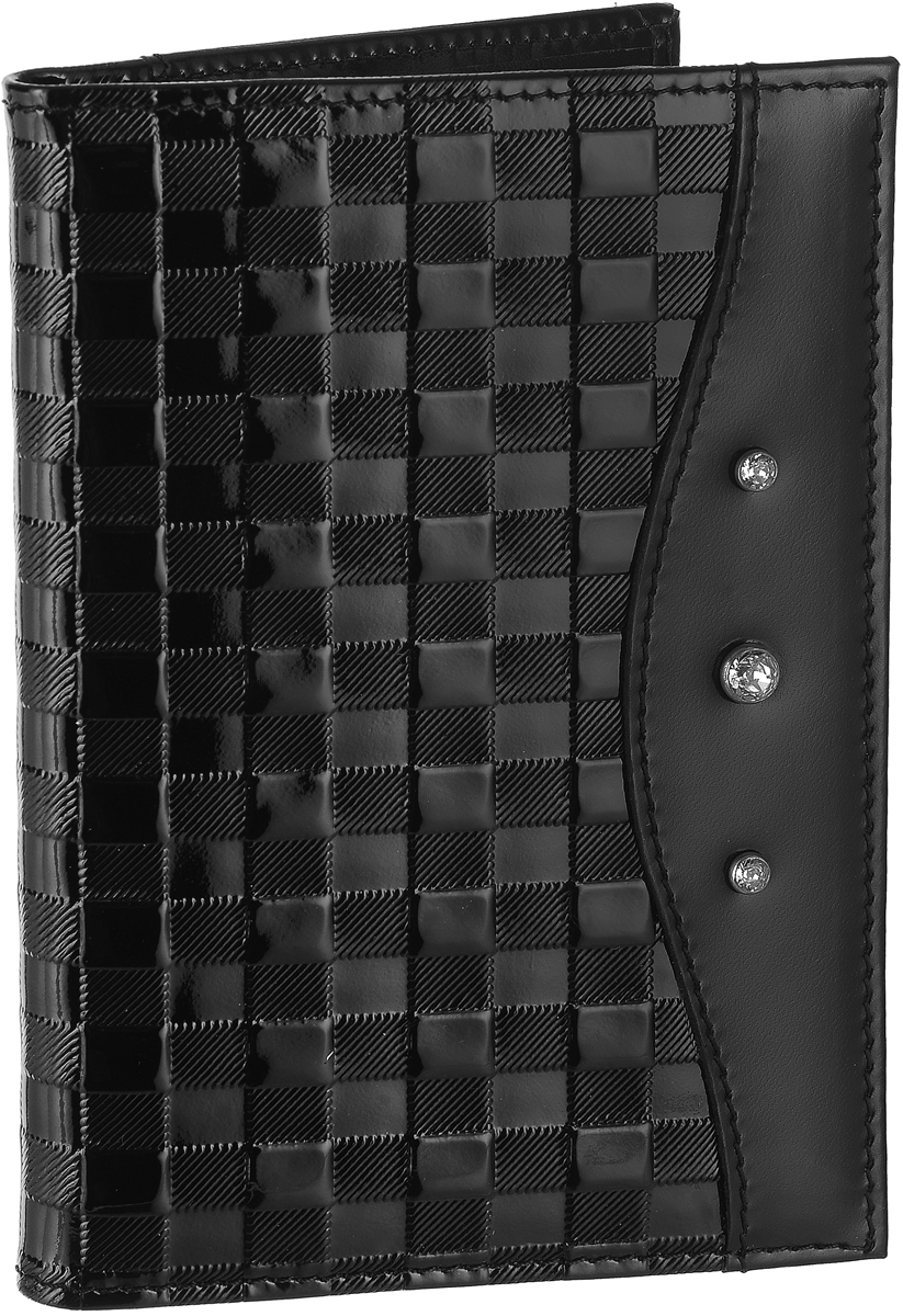 Бумажник водителя женский Elisir Bottega black, цвет: черный. EL-LK269-BV0013-000 кошевар д птицы