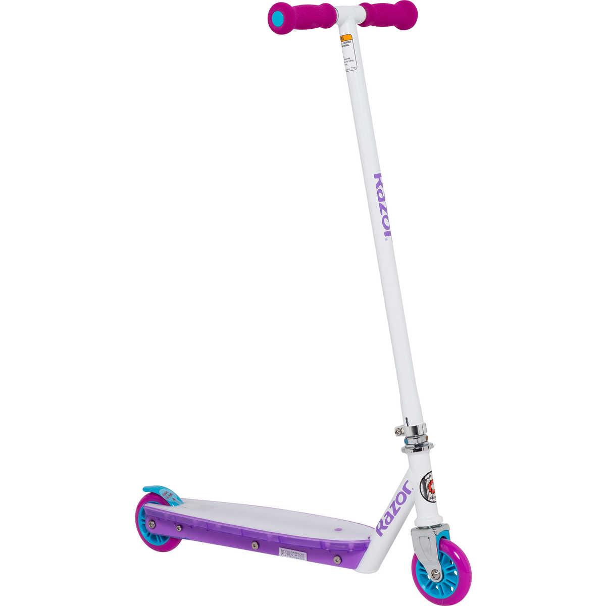 Самокат детский Razor Party Pop, цвет: фиолетовый подшипники для руля самоката м кузьминки