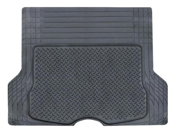 Коврик в салон автомобиля Airline, в багажник, универсальный, цвет: черный, 133 х 111 см коврик airline asm t 02